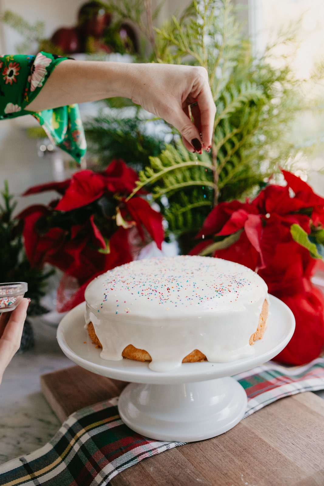 Italian Christmas Cookie Cake Chef Bre S Kitchen